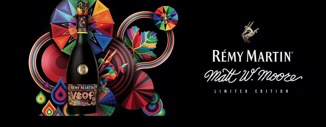 Remy Martin人头马与艺术家 Matt W. Moore 邀您以全新方式看待周